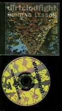 Dirtclodfight Hunting Lesson CD Dirt Clod Fight Punk Flipside Records ‎– Flip 49