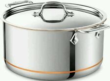 All-Clad Copper Core 8 Quart Stock Pot with Lid **BRAND NEW**