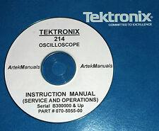 Tektronix 214 Scope Service &Operation Manual
