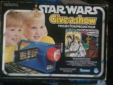 1978 Kenner Star Wars Canadian Give A Show Projector complete In Box