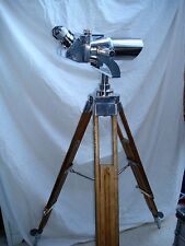Polished Flak German Binoculars on Zeiss Tripod, World War II, Excellent Optics
