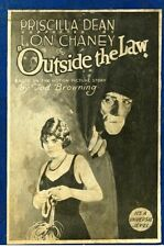 Outside the Law - 1920 - Lon Chaney Tod Browning  - Vintage Silent Film DVD