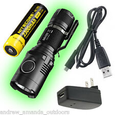 Nitecore MH20 Rechargeable 1000Lm Flashlight w/ NL183 Battery and Wall Adaptor