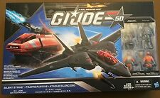 GI Joe 50th Anniversary SILENT STRIKE Skystriker & HISS Tank Factory Sealed!