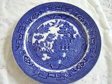 Allertons  England  porcelain blue and white plate-dish,
