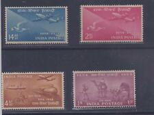 1954 INDIAN POSTAGE STAMP CENTENARY MINT STAMPS  Set of 4  4v MNH
