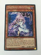 YUGIOH GHOST REAPER & WINTER CHERRIES SECRET NEAR MINT MIXED EDITION SHVI EN040