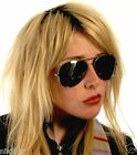 Oversized Aviator Sunglasses Silver Gold or Black Frame Black Smoked Lenses Cop