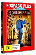 Night At The Museum Blu Ray + DVD  New/Sealed Region B