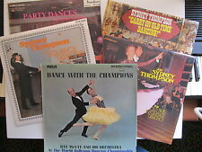 "5 *12"" Lp's 4 Sydney Thompson 1 Ray McVay Ballroom Old Time & Sequence Dancing"