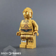 Lego Star Wars - C-3PO Minifigure  - BRAND NEW - Colorful Wires Version 75136