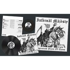 "INFERNAL MAJESTY - Nigrescent Years of Chaos LP + 7"" (LIM.200 BLACK V.*RAZOR)"