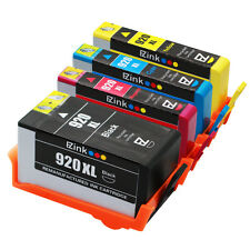 4PKs 920XL 920 XL High Yield Ink Cartridge For HP OfficeJet 6500a Plus 6500a