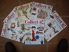 SIX COLLECT IT MAGAZINES 2003 GREAT CONDITION