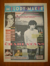 MELODY MAKER 1991 MAR 9 REM CHARLATANS RIDE LEVELLERS