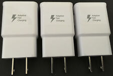 3x Adaptive Fast Wall Charger OEM For Samsung S6 S6 Edge Note 5 5v2A/9v1.67A