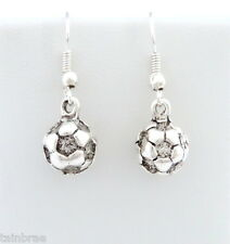 Football Ball (3D) Earrings