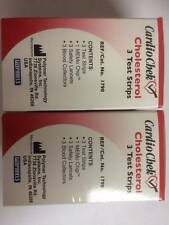 CardioChek Cholesterol Test Strips 3 ea (Pack Of 2) Expiration: 04/2017