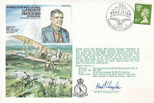 Viscount Trenchard 1978 60th anniv. Of Formation of the RAF Pilot Signed Cover