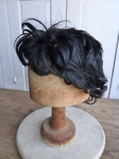 Vintage black dressing up wig
