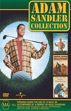 Adam Sandler COLLECTION (4-Disc Set) New & Sealed, Region: 4
