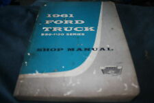 1961 FORD 850-1100 SERIES TRUCK SHOP MANUAL