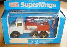 MATCHBOX SUPERKING K-14 VINTAGE -  SHELL HEAVY DUTY BREAKDOWN TRUCK -  RARE MIB