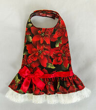 L New Poinsettia Party Christmas Dog dress clothes pet apparel Large Pc Dog®
