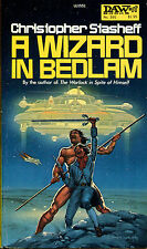A Wizard in Bedlam by Christopher Stasheff-Vintage DAW Paperback-1980