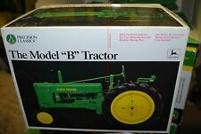 1/16 John Deere Styled B narrow front precision tractor, Ertl never opened