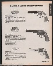 1988 SMITH & WESSON Model 657 Stainless, 29 .44 Magnum, 25 Revolver AD