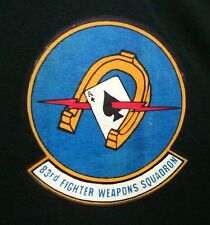 83rd FIGHTER WEAPONS SQUADRON Combat Archer T shirt USAF Air Force missiles XL