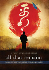 ALL THAT REMAINS:Nagasaki Atomic bomb survivor Catholic convert, Dr. Takashi DVD