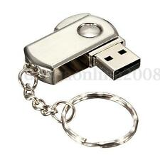 64 G GO GB CLE USB 2.0 Métal Chain Mémoire Flash Drive Disk Pliable Win 7/10 PC