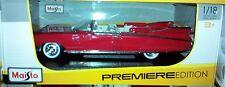 1959 Cadillac Eldorado Biarritz Convertible Diecast Car 1:18 Maisto 12 inch Red