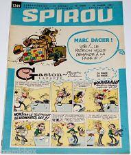 Le journal SPIROU n° 1349 de 1964 magazine sans mini récit revue Marc Dacier bd