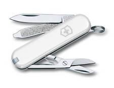 VICTORINOX Classic Weiss NEU Schweizer Taschenmesser Messer + Etui Swiss Knife