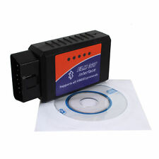Car Bluetooth Diagnostic Scanner/ELM327/OBD2 II/Interface / Scan Tool With CD