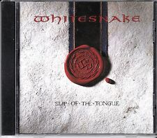 WHITESNAKE - SLIP OF THE TONGUE - CD - NEW -