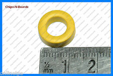 10 Pc T-13 IronDust Core (Yellow) for HAM Radio,Electronics Project,Transmitters