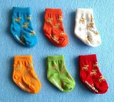 (Lot of 6 Pairs) TRUMPETTE The Wonderful World  Puppy Baby Socks / C695