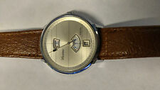 Vintage Lucerne Digital Jump Hour and Minutes Date Wind-up Watch works mint
