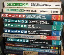 Chilton 30150, Honda Accord/Prelude 1984-1995