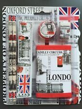 SCHOOL KIT/STATIONARY SET WITH WALLET LONDON SOUVENIR