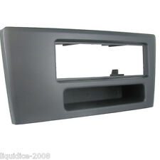 CT24VL02 VOLVO V70 UP TO 2004 BLACK SINGLE DIN FASCIA ADAPTER PANEL PLATE