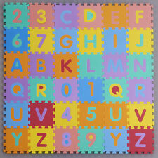 Interlocking EVA Foam Alphabet Letters Numbers Soft Mat Educational Puzzle Kids