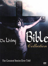 THE LIVING BIBLE COLLECTION New Sealed 5 DVD Set