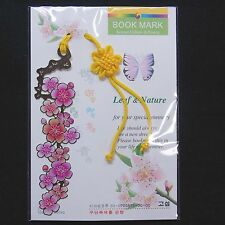 Korea Traditional Bookmark  Leaf and Nature FreeShipping