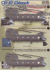 Print Scale Decals 1/48 BOEING CH-47 CHINOOK Helicopter Part 2