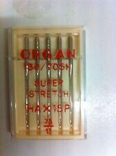 Órgano interior Agujas De Coser ha X 1sp Super Stretch, tamaño 75/11